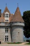 Perigord, the picturesque castle of Monbazillac in Dordogne Stock Photo
