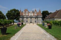 Perigord, the picturesque castle of Monbazillac in Dordogne Royalty Free Stock Photos