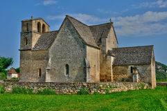 Perigord, the picturesque church of Vezac in Dordogne Royalty Free Stock Photography