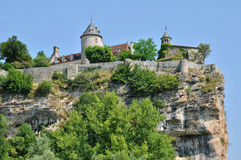 Perigord, picturesque landscape of Lacave royalty free stock photos