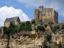The Perigord's Chateau de Beynac Stock Image