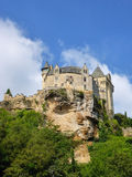 The Perigord's Chateau de Montfort Royalty Free Stock Photos