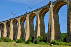 Perigord, Souillac viaduct in  Lachapelle Auzac Royalty Free Stock Photo