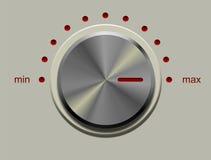 Perilla de control Imagen de archivo libre de regalías
