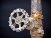 Perilla de la válvula Imagenes de archivo