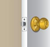 Perilla de puerta Foto de archivo libre de regalías