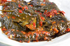 Perilla Leaf kimchi Royalty Free Stock Photography