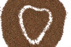 Perilla (Perilla frutescens (L.) Britton) Seeds. Royalty Free Stock Photo