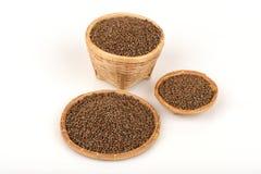 Perilla (Perilla frutescens (L.) Britton) Seeds. Stock Photography