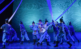 "Perils of the sea-Dance drama ""The Dream of Maritime Silk Road"" Stock Image"