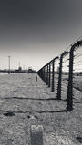 Perimeter fence, Birkenau Concentration Camp, Poland Royalty Free Stock Images