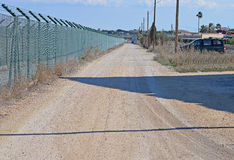 High Security Perimeter Fence - Prison Royalty Free Stock Image
