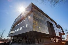Perimeter Institute for Theoretical Physics. Stephen Hawking was a Distinguished Visiting Research Chair at Perimeter Institute from 2009 - 2018 Stock Photography