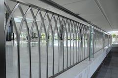 Perimeter railing at Puncak Alam Mosque at Selangor, Malaysia Royalty Free Stock Image