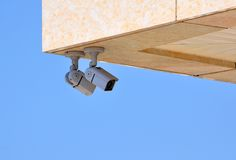 Perimeter surveillance Royalty Free Stock Photography