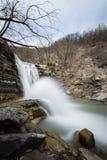 Perino rzeki spadki zdjęcie stock