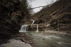 Perino rzeki spadki obrazy stock