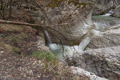 Perino rzeki spadki zdjęcia royalty free