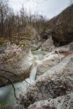 Perino rzeki spadki obrazy royalty free