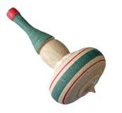 Perinola de madera Foto de archivo libre de regalías
