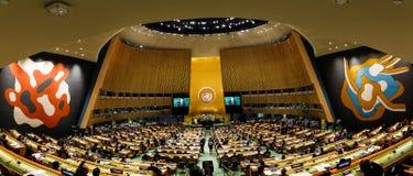 72. period av FN-generalförsamlingen i New York Arkivfoto