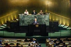72. period av FN-generalförsamlingen i New York Royaltyfri Bild