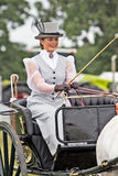 Period costume rider Royalty Free Stock Photo