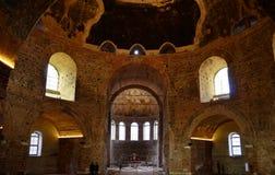 Periodi bizantini rotunda Salonicco in Grecia fotografia stock libera da diritti