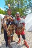 Periodi ed epoche Roma antica La Russia mosca Giugno 2015 immagine stock libera da diritti