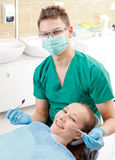 Periodic dental screening stock image