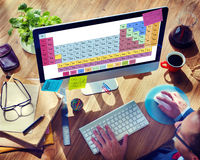 Periodic Table Chemical Chemistry Mendeleev Concept Stock Photo
