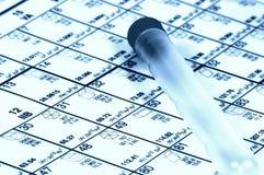 periodisk tabell Royaltyfri Fotografi