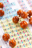 periodisk tabell för chemical element royaltyfri bild