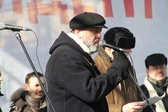 Periodista Sergei Parkhomenko Foto de archivo