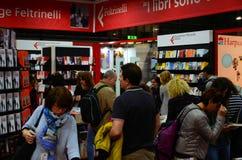 Periodo dei libri, fiera di italiano che pubblica 2017 Immagine Stock Libera da Diritti