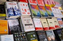 Periodo dei libri, fiera di italiano che pubblica 2017 Fotografie Stock Libere da Diritti