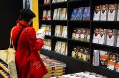 Periodo dei libri, fiera di italiano che pubblica 2017 Immagini Stock