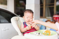 Periodo delizioso del bambino immagini stock