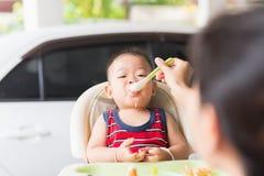 Periodo delizioso del bambino fotografia stock