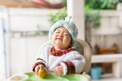 Periodo delizioso del bambino Fotografia Stock Libera da Diritti