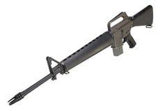 Periodo della guerra del vietnam del fucile M16 Fotografia Stock Libera da Diritti