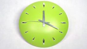 Periodo di digiuno dell'orologio che muove in avanti alta velocità stock footage