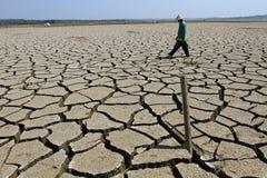 Periodo di siccità Immagini Stock Libere da Diritti