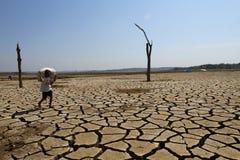 Periodo di siccità Immagine Stock Libera da Diritti