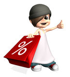 Periodo di vendite Fotografia Stock