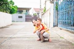 Periodo felice del bambino fotografie stock