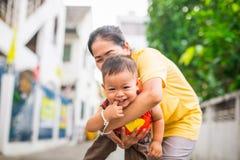 Periodo felice del bambino fotografia stock libera da diritti