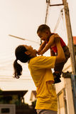 Periodo felice del bambino Immagini Stock Libere da Diritti