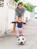 Periodo felice del bambino Fotografia Stock