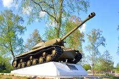 IS-3 - Periodo pesante sovietico di sviluppo del carro armato di grande guerra patriottica Immagine Stock Libera da Diritti